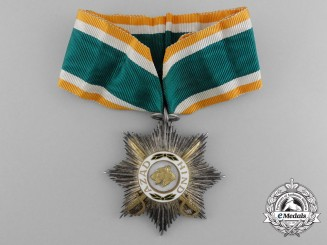 An Order of Azad Hind; First Class Badge