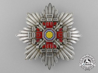 Japan, Manchukuo. An Order of the Pillars of the State, II Class Star