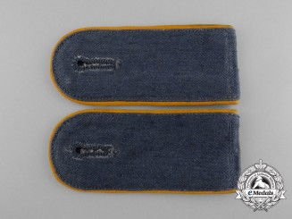 A Mint Set of Luftwaffe Enlisted Man's Fallschirmjager Shoulder Boards