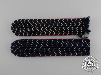 A Set of Deutsche Reichsbahn Official's Shoulder Boards