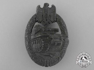 A Late War Tank Badge