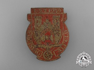 Germany, NSDAP. A 1939 Alfeld District Council Day Badge