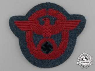 A Mint Second Pattern German Gemeindepolizei NCO's Sleeve Eagle