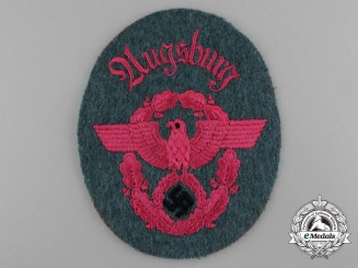 A Mint Second Pattern Feuerwehr Polizei NCO's Sleeve Eagle