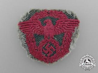 An Uniform Removed Feuerwehr Polizei NCO's Cap Eagle