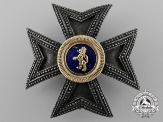 A Rare House Order of the Golden Lion;Grand Commanders Star Second Class