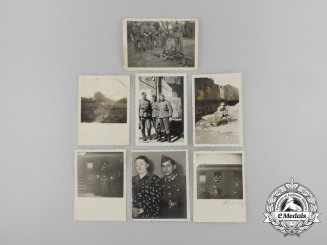 A Lot of Seven Second War German Photographs