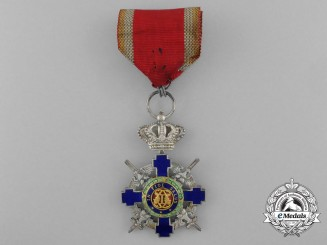 An Order of the Romanian Star; Knight's Cross with Swords