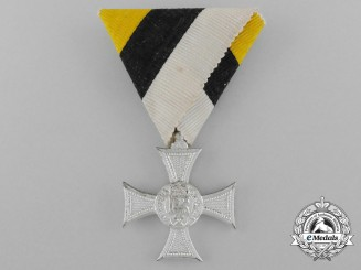 A Bulgarian Army Long Service Cross; Ten Years Service