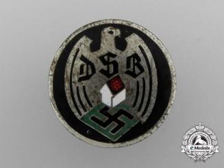 A German Homeowner's Association Membership Badge by Hermann Aurich
