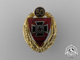 A 50 Year Veteran's Membership Badge