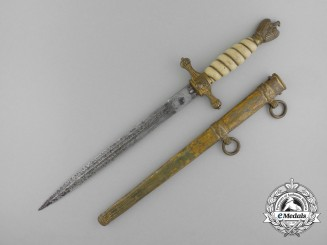 A Kriegsmarine Officer's Dagger by Carl Eickhorn