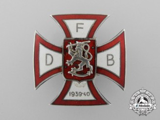 A Scarce Waffen-SS Cross of the Danish Volunteer Battalion for use in Finland 1939-1940