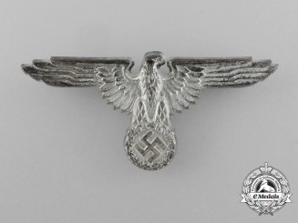 An SS Visor Cap Eagle by Ferdinand Wagner