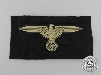 Germany. A Waffen-SS Tropical Sleeve Eagle
