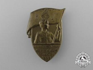 A 1933 HJ Marburg/Lahn Pentecost Meeting Badge