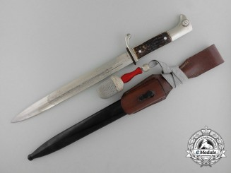 A Heer Etched Bayonet by E. & F. Horster & Co Gmbh, Solingen