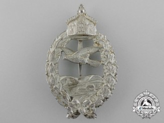 Germany, Imperial. A Fine First War Prussian Pilot's Commemorative Badge by Meybauer