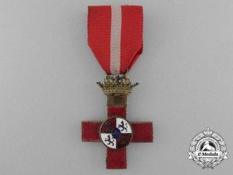 A Franco Period Spanish Order of Military Merit; 1st Class with Red Distinction