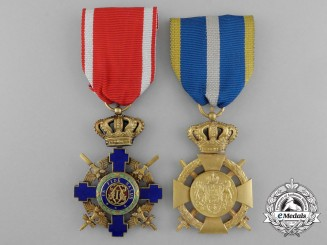Two Romanian Orders and Awards