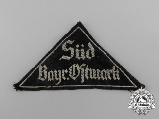 A  HJ/DJ South Bavarian Ostmark District Sleeve Patch