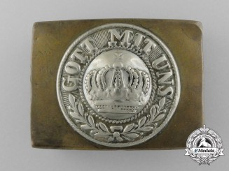 A German Weimar Period Heer (Army) Enlisted Man's Belt Buckle