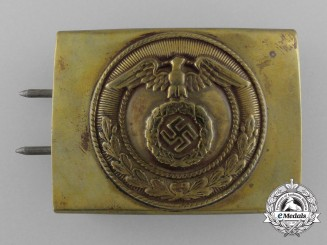 An SA Enlisted Man's Belt Buckle by Julius Dinnebier