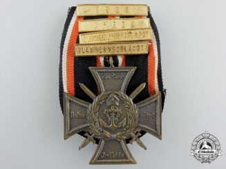 A First War German 1914/18 Marine Korps Cross