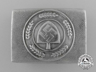 A Reichsarbeitsdienst (RAD) Enlisted Man's Belt Buckle by Richard Sieper & Söhne