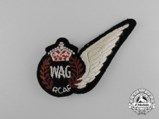 A Royal Canadian Air Force (RCAF) Wireless/Air Gunner (WAG) Wing
