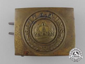 A German Weimar Period Heer (Army) Enlisted Man's Belt Buckle