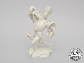Germany, SS. An SS-Allach Dancing Jester