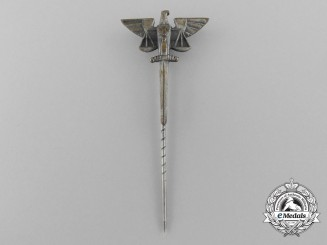 A German Third Reich Period Judicial Stickpin by Klotz u. Kienast