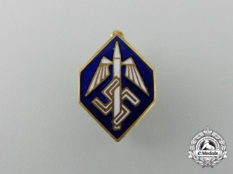 A German Third Reich Period Stenographer's Union Stick Pin