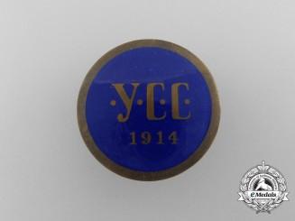 A First War Ukrainian Sich Riflemen Cap Badge 1914