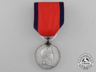 A Hanoverian Waterloo Medal to Flag Bearer Schwarze; Landwehr Bataillon Salzgitter