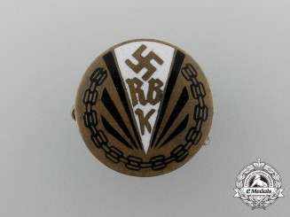 A Reich League of the Physically Handicapped Membership Badge