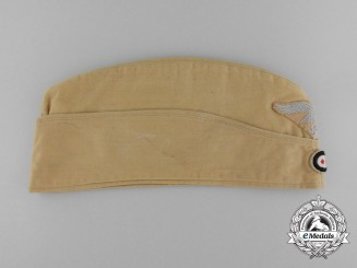 A Luftwaffe Enlisted Man's/NCO's Tropical Side Cap