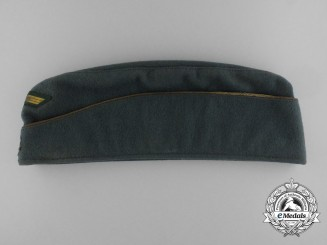 A Kriegsmarine Coastal Artillery Officer's Side Cap