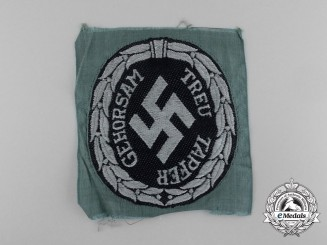 A Mint Waffen-SS/Schuma Police Sleeve Insignia