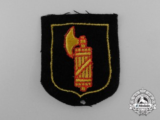 An Italian Waffen-SS Foreign Volunteer Service Sleeve Insignia