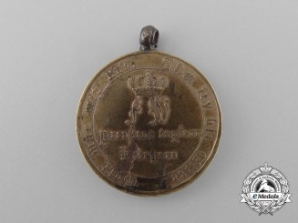 An 1813-1815 Prussian War Merit Medal