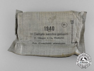 A Second War German Field Dressing 1940, Unused