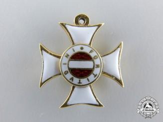 Austria, Imperial. A Fine Miniature Military Maria-Theresia-Order in Gold