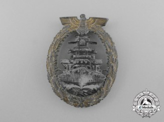 A High Seas Fleet Badge by Richard Simm & Söhne