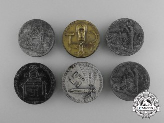 A Lot of Six Third Reich Period Badges