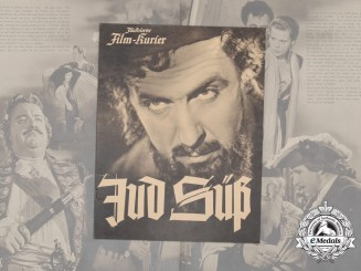 A 1940 German Propaganda Film Leaflet Promoting Jud Süß