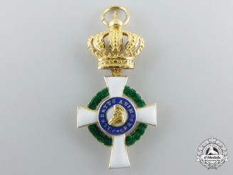 A Miniature Grand Commander Saxon Albrecht Order (1851-1876)