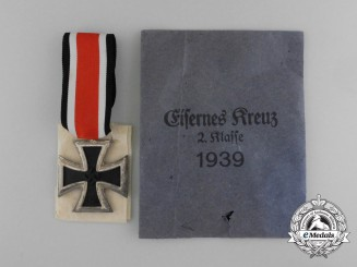 A Mint Iron Cross 1939 Second Class in Original Packet of Issue by Deschler und Sohn