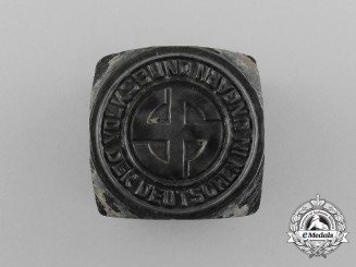 A Manufacturing Die for Volksbund Association of German Hungarians Badges